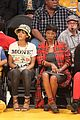 rihanna bff melissa forde hold hands at lakers game 07