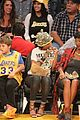 rihanna bff melissa forde hold hands at lakers game 15