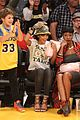 rihanna bff melissa forde hold hands at lakers game 18