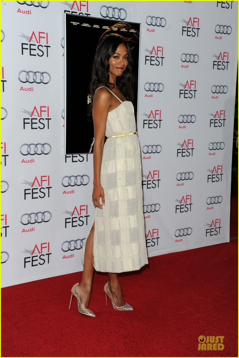zoe saldana out of the furnace hollywood screening 202989471