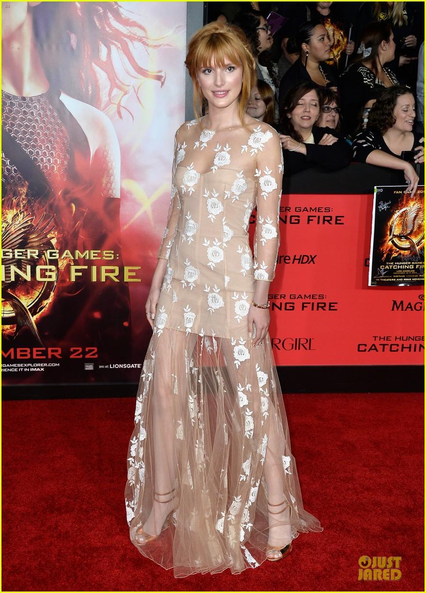 ashlee simpson evan ross catching fire la premiere 102995741