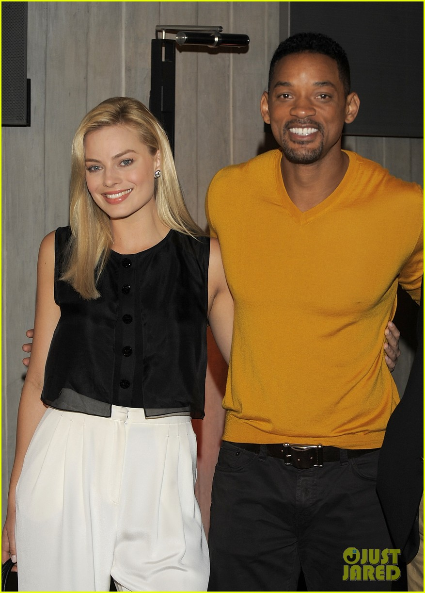 will smith margot robbie focus press conference in argentina 01