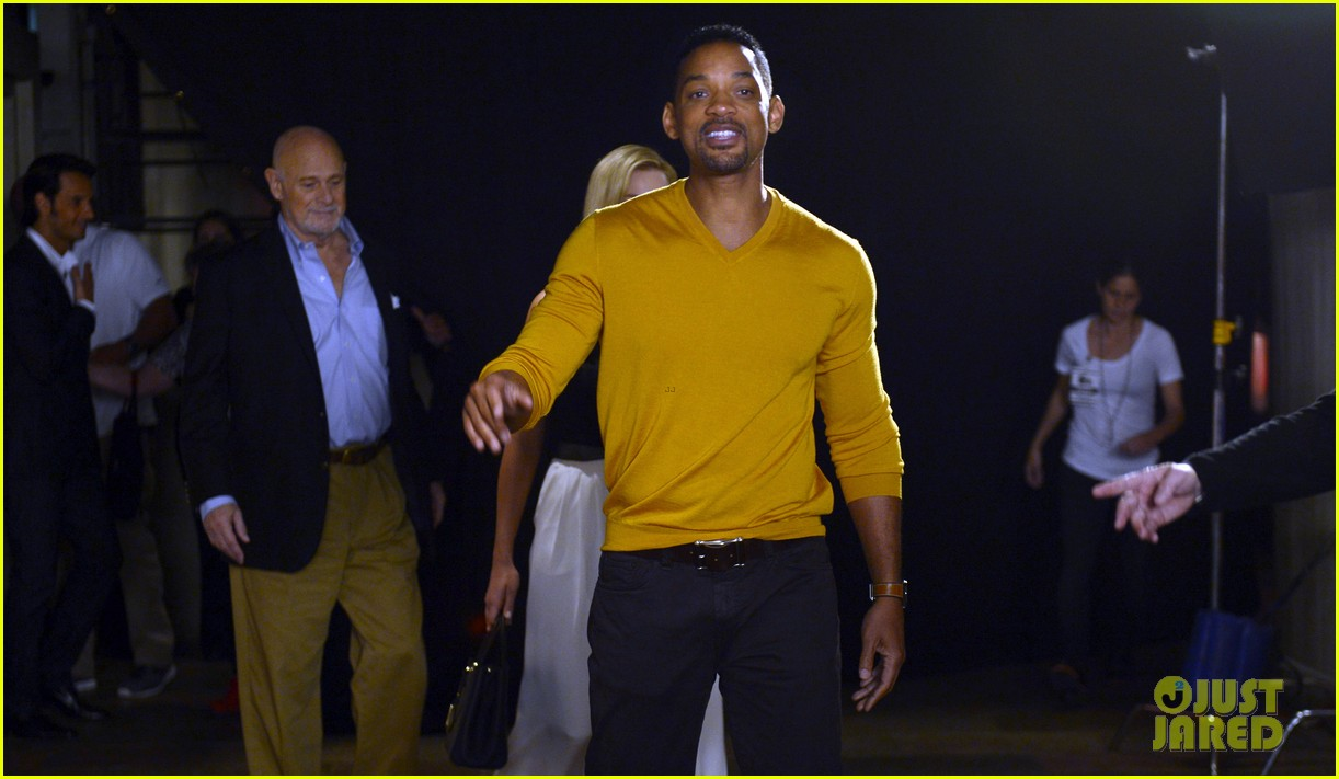will smith margot robbie focus press conference in argentina 05