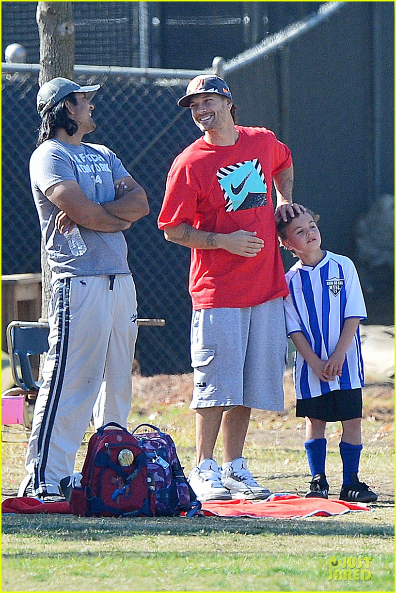 britney spears david lucado soccer game with kevin federline 11