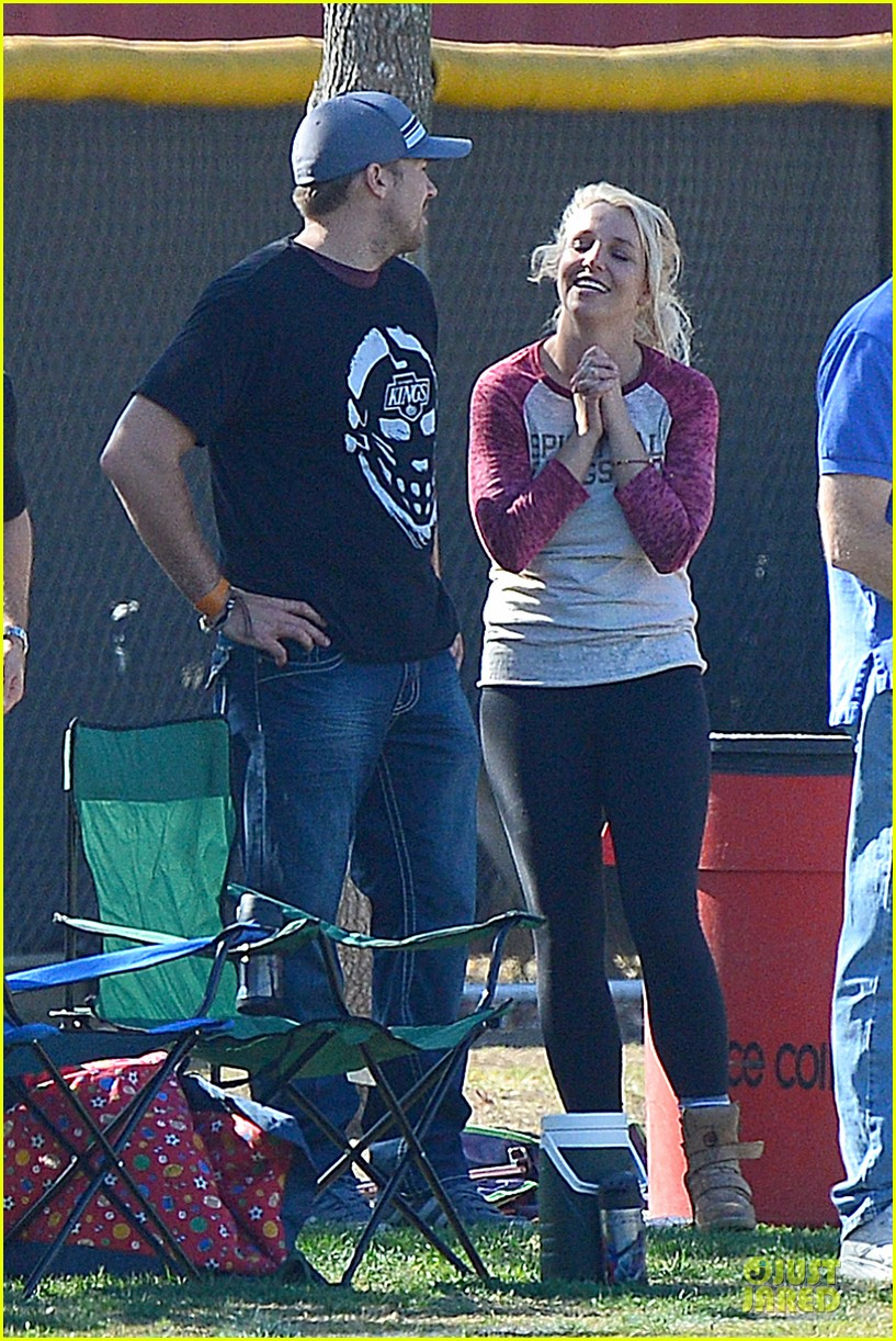 britney spears david lucado soccer game with kevin federline 18