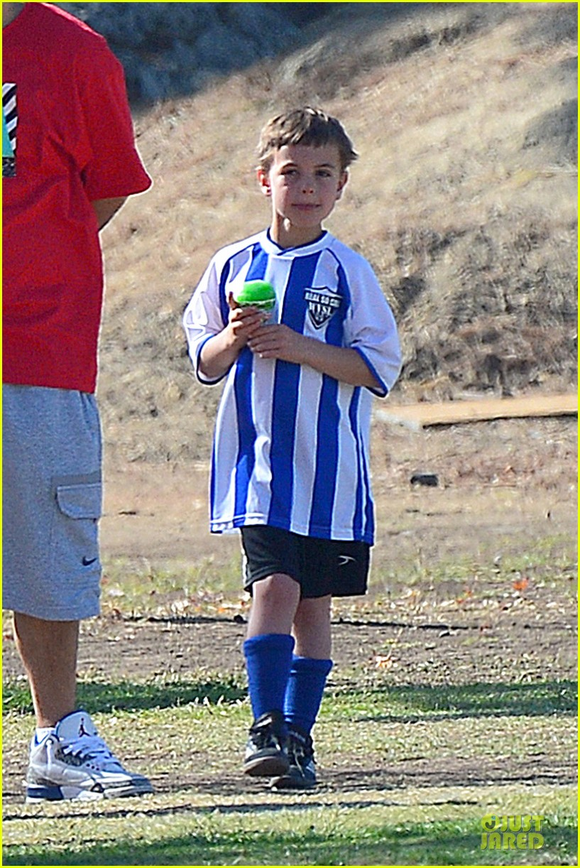 britney spears david lucado soccer game with kevin federline 232989163