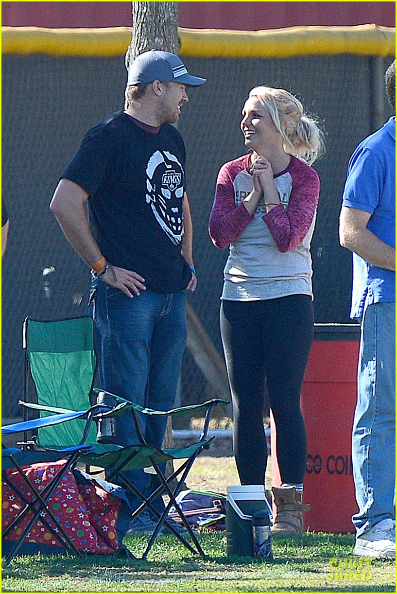 britney spears david lucado soccer game with kevin federline 262989166