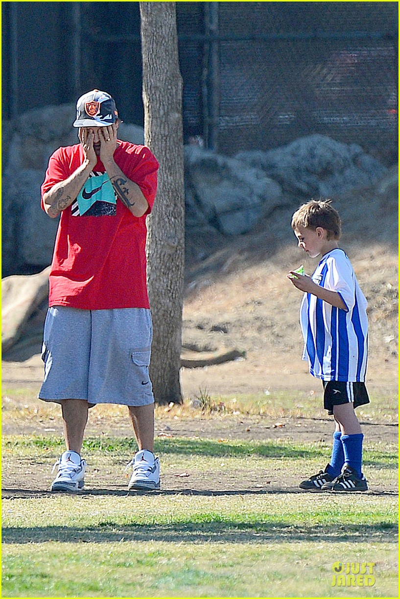britney spears david lucado soccer game with kevin federline 34