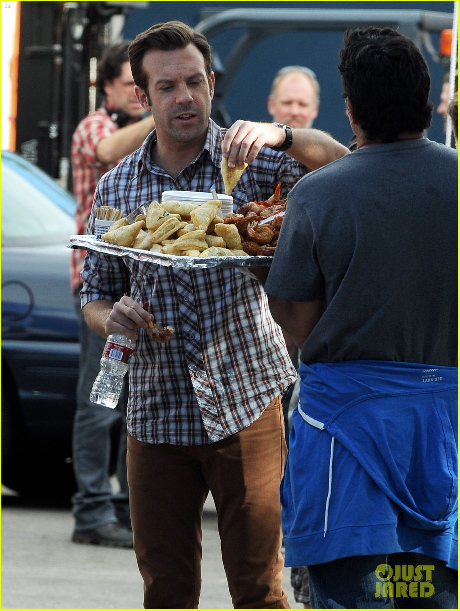 jason sudeikis jason bateman work on horrible bosses 2 10