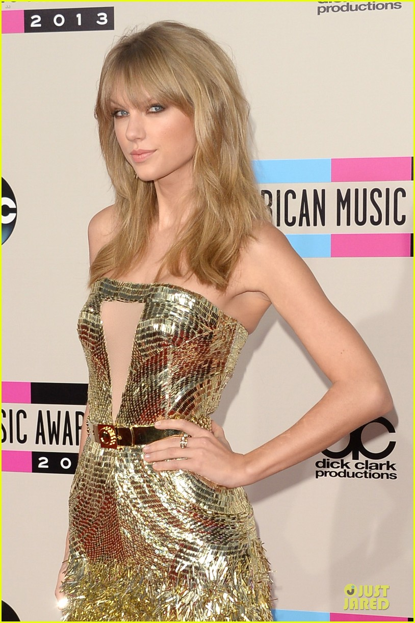 taylor swift amas 2013 red carpet 04