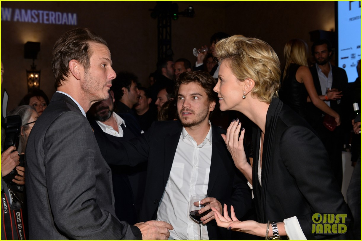 charlize theron mark wahlberg reunite at premiere after party 05
