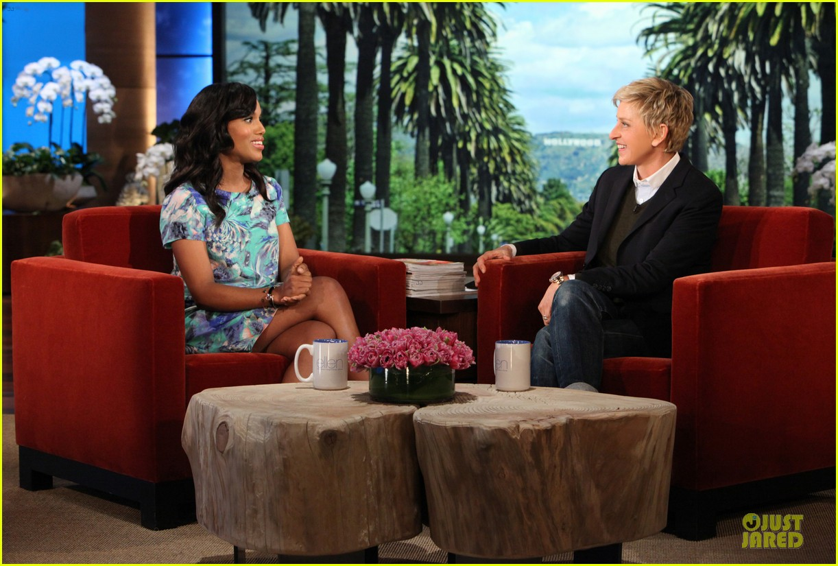 kerry washington talks magazine covers on ellen 032992394