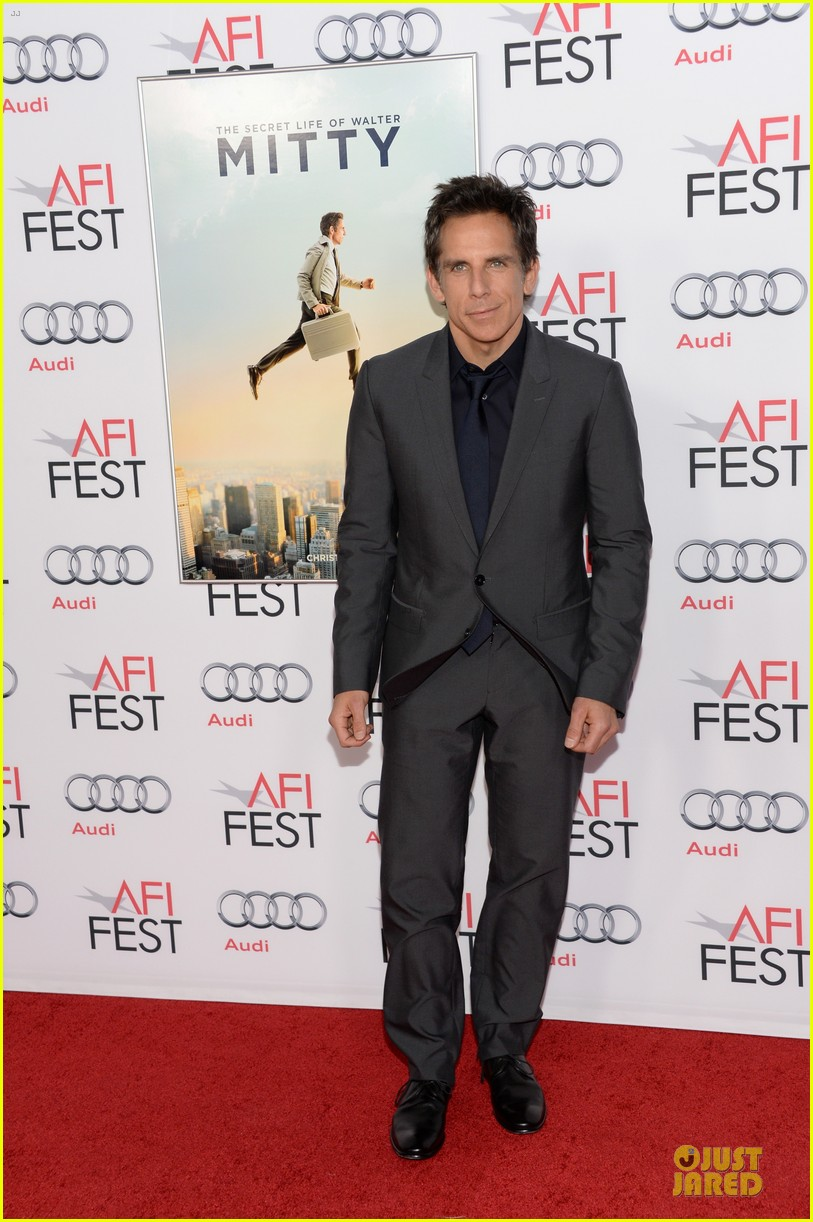 kristen wiig ben stiller walty mitty afi fest screening 06