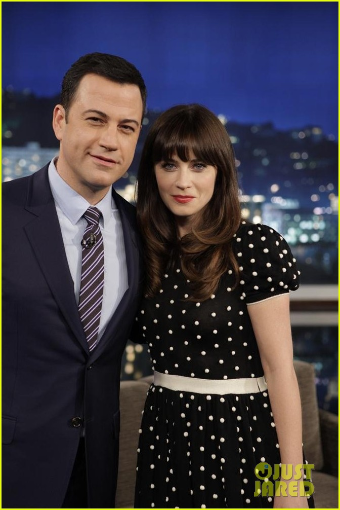 zooey deschanel jimmy kimmel live watch now 02