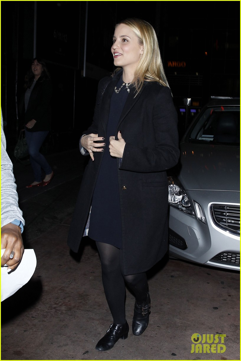 dianna agron supports glees amber riley at holiday concert 083017053