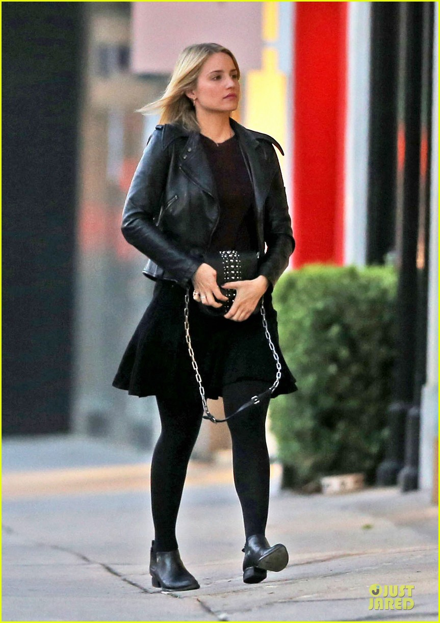 dianna agron fun shoot marks beginning of holiday break 01