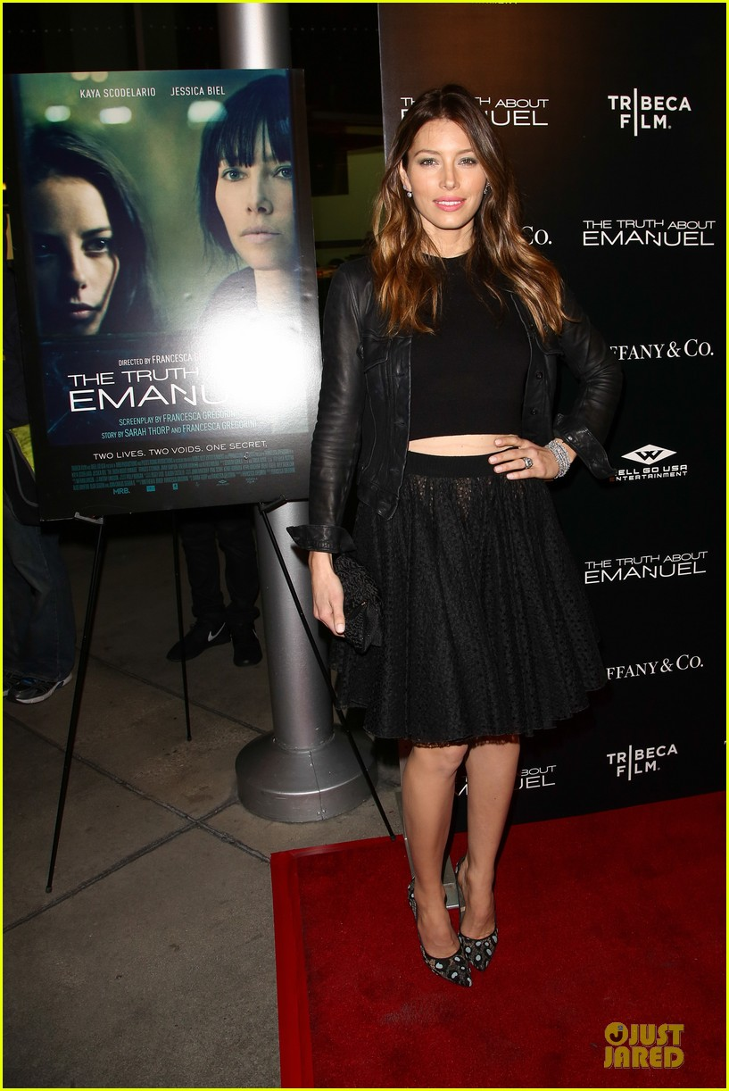 jessica biel the truth about emanuel hollywood premiere 10