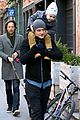 orlando bloom flynn beanie matching father son duo 33