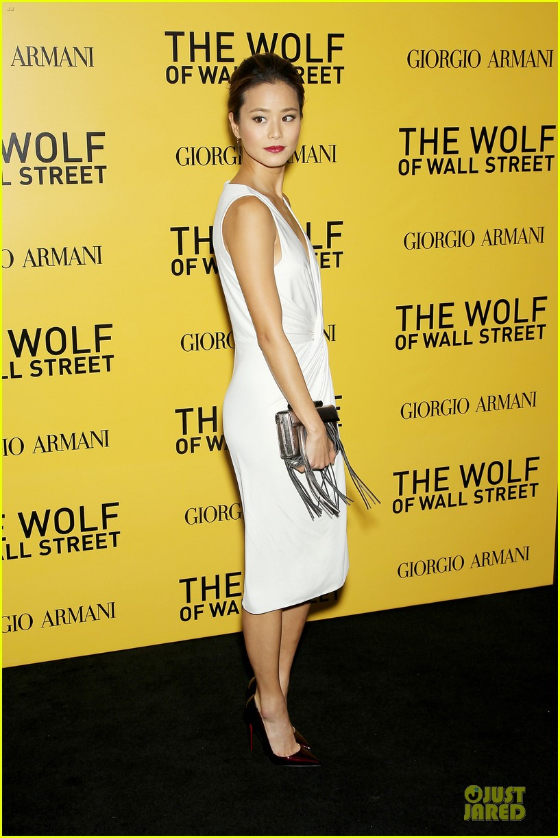 orlando bloom jamie chung wolf of wall street premiere 11
