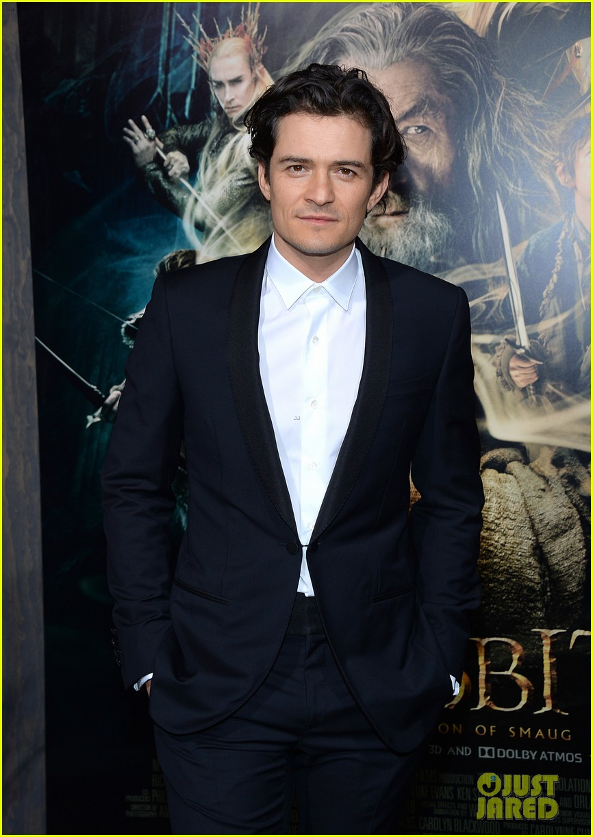 orlando bloom evangeline lilly hobbit hollywood premiere 15