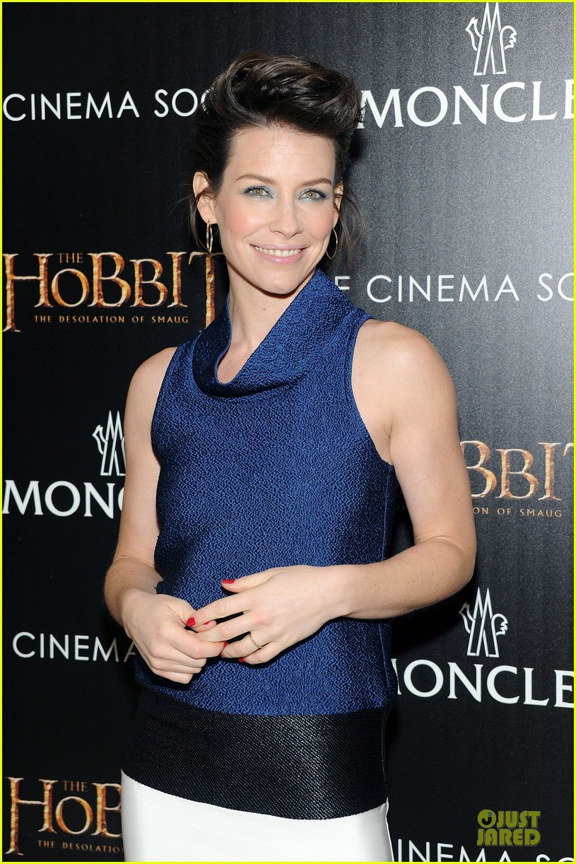 orlando bloom evangeline lilly hobbit nyc screening 083010233