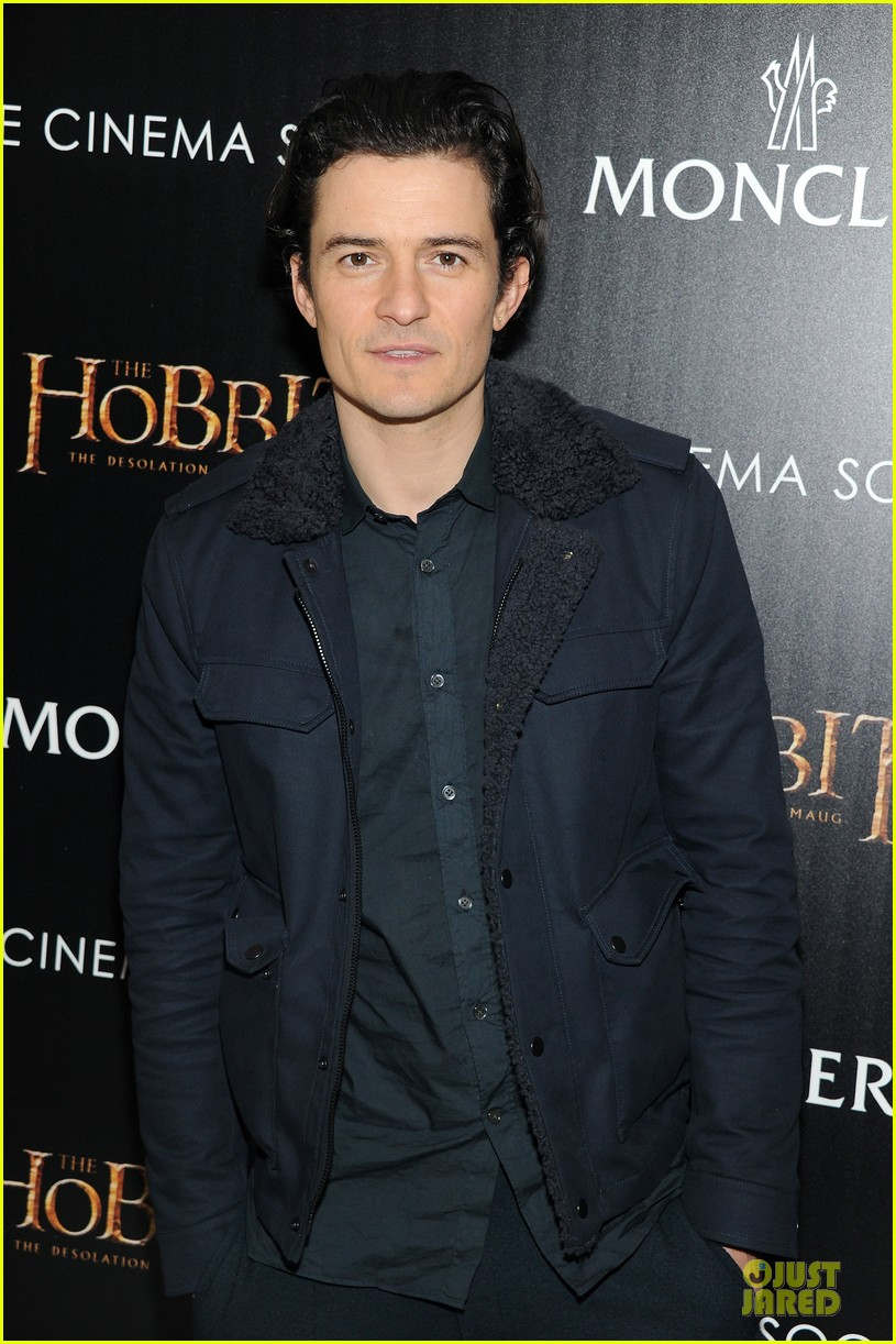 orlando bloom evangeline lilly hobbit nyc screening 183010243