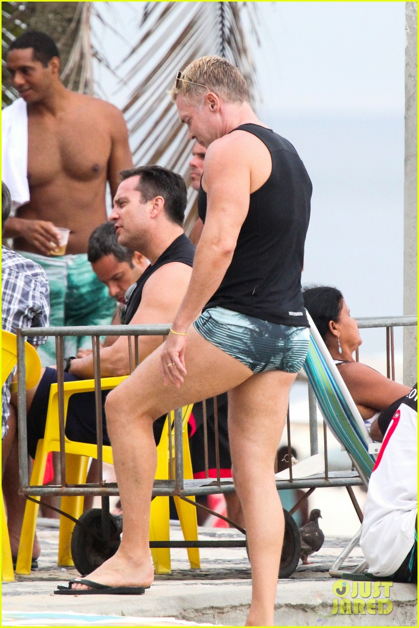 gmas sam champion shirtless buff beach time 18