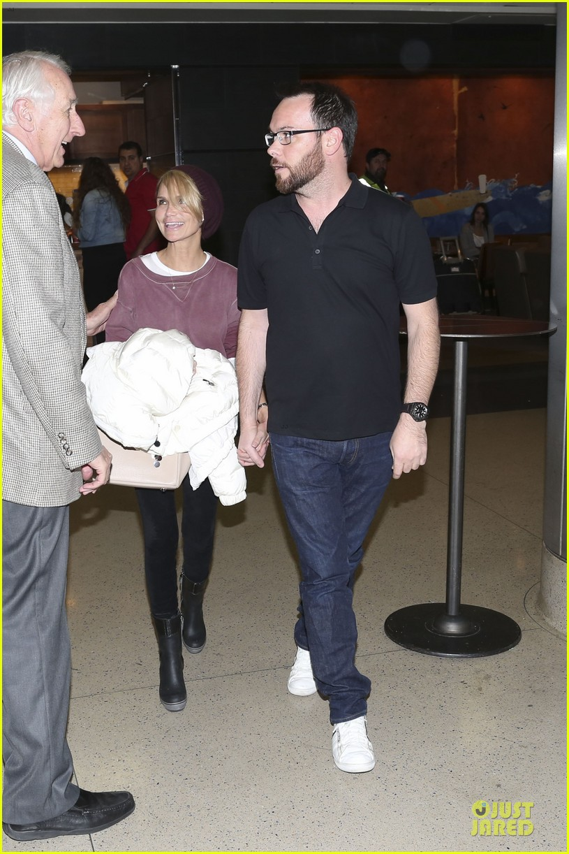 kristin chenoweth lax airport pick up from dana brunetti 013018757