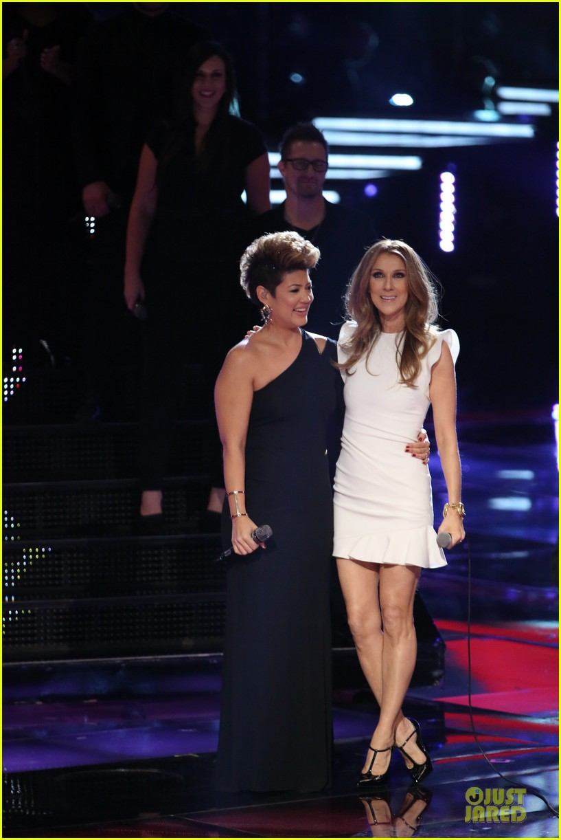 Tessanne Chin & Celine Dion: 'The Voice' Performance (Video)!