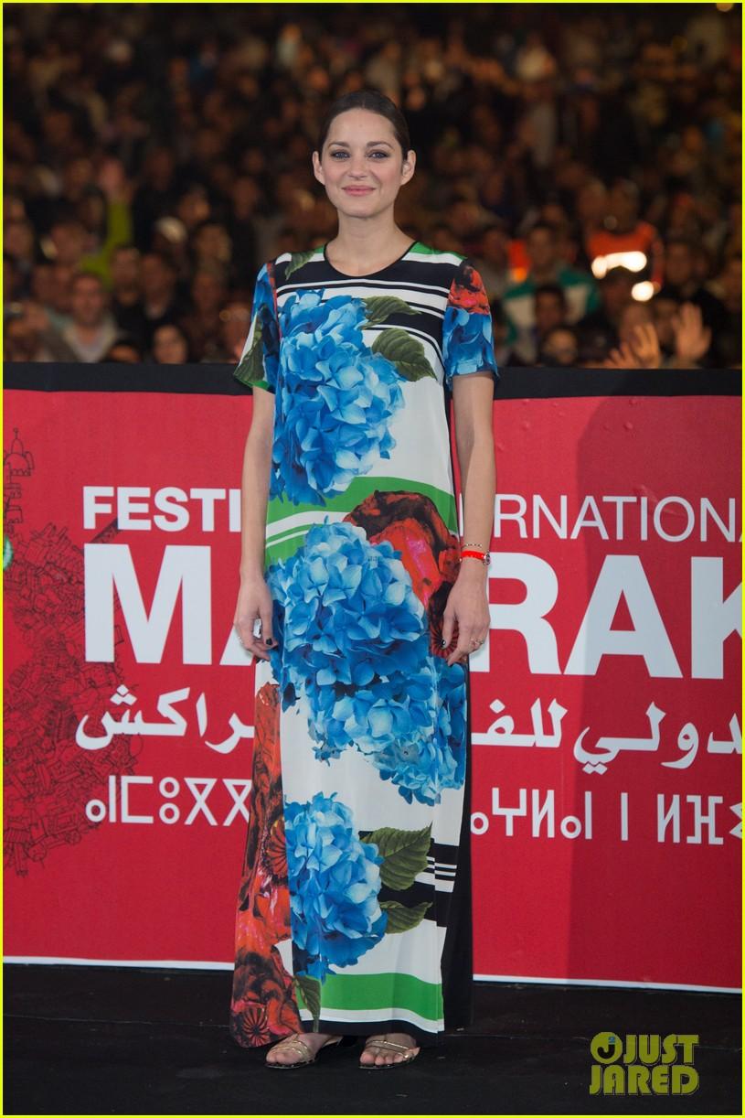 marion cotllard public enemies presentation in marrakech 09