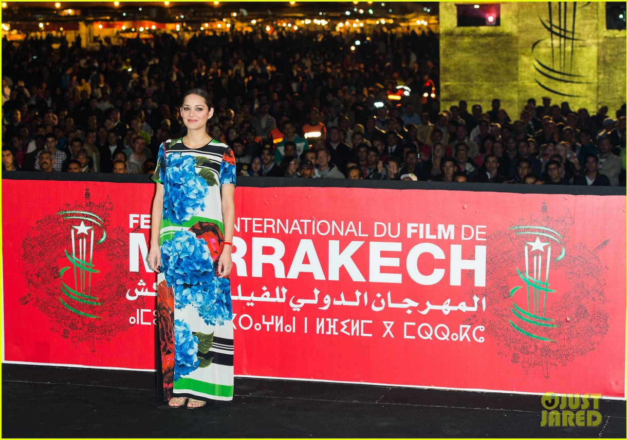 marion cotllard public enemies presentation in marrakech 123005749