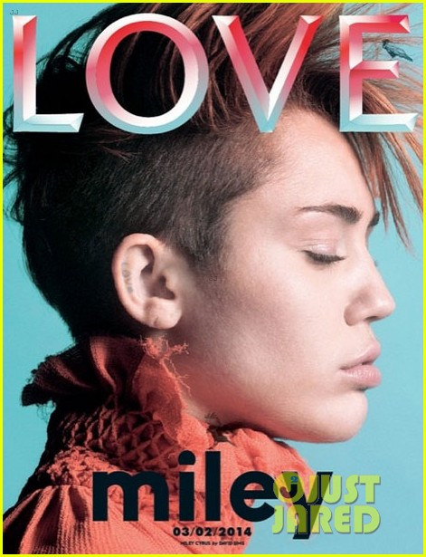 miley cyrus flaunts a mohawk on love magazine cover3019812