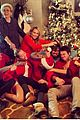 miley cyrus shares family fist fight christmas photo 01
