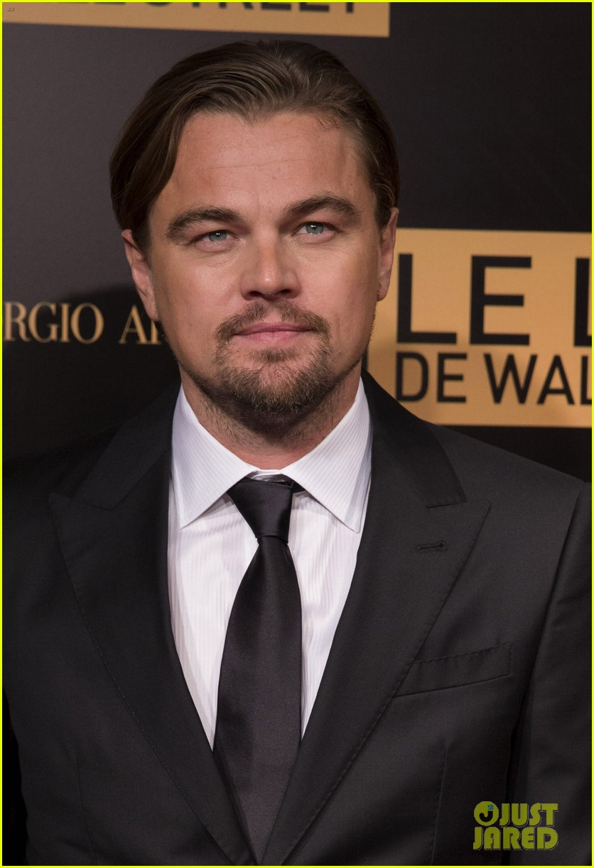 leonardo dicaprio wolf of wall street paris photo call 02