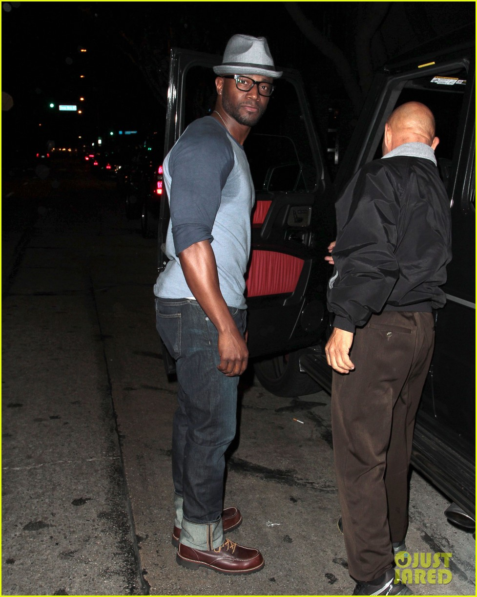taye diggs sweats it out at post christmas club night 033018311