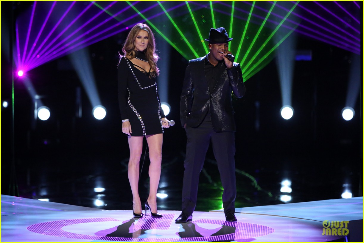 celine dion ne yo incredible performance on the voice video 043013983