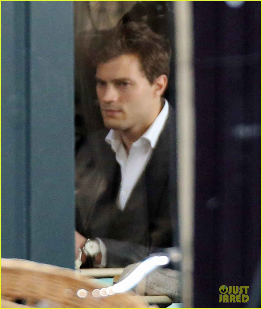 jamie dornan filming fifty shades of grey first photos on set 073002967
