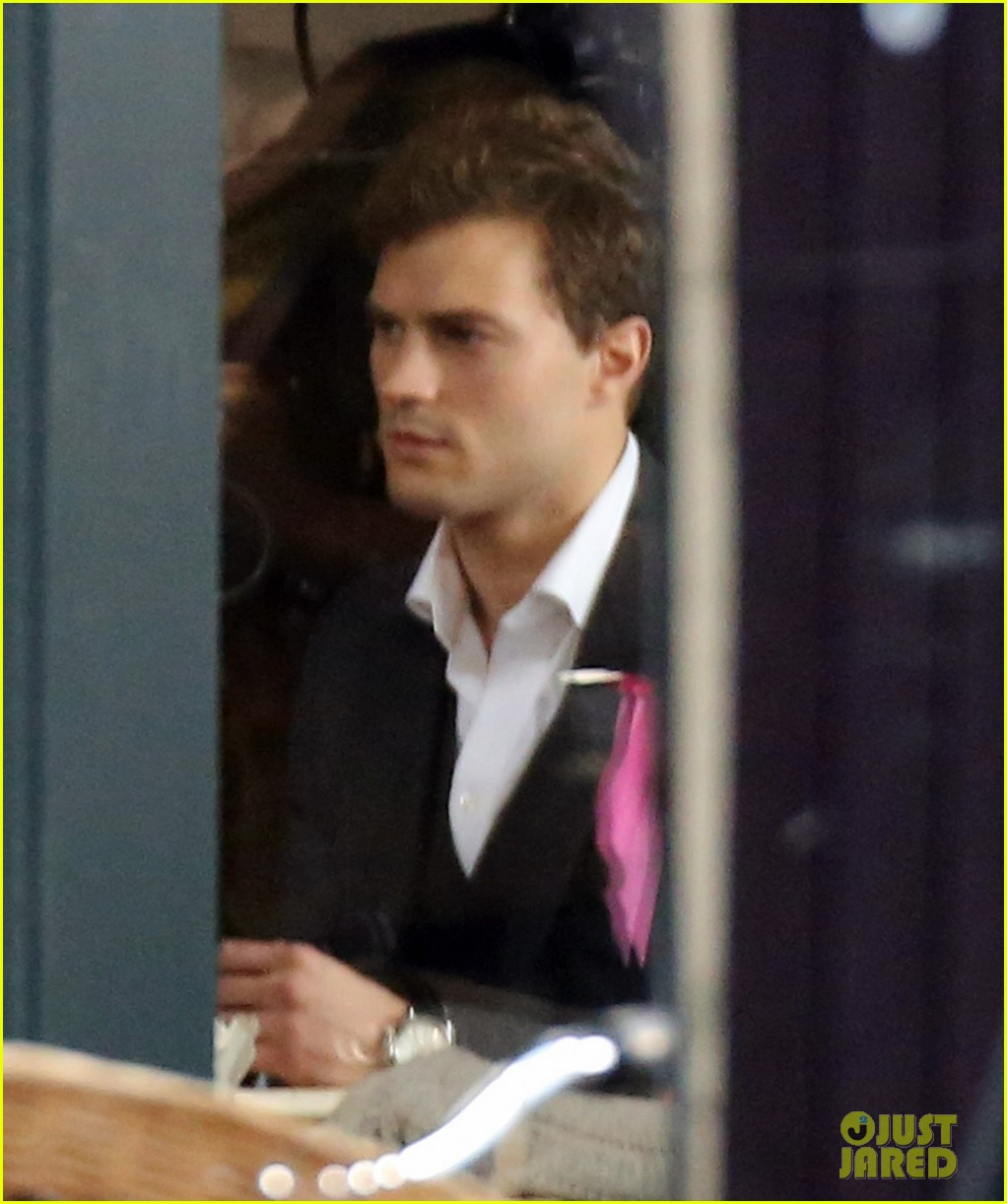 jamie dornan filming fifty shades of grey first photos on set 13