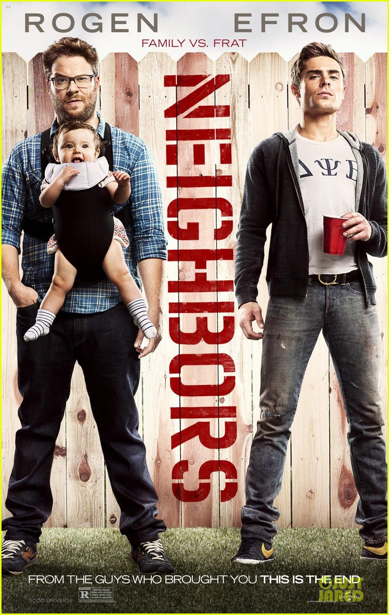 zac efron new neighbors poster with seth rogen 053014000