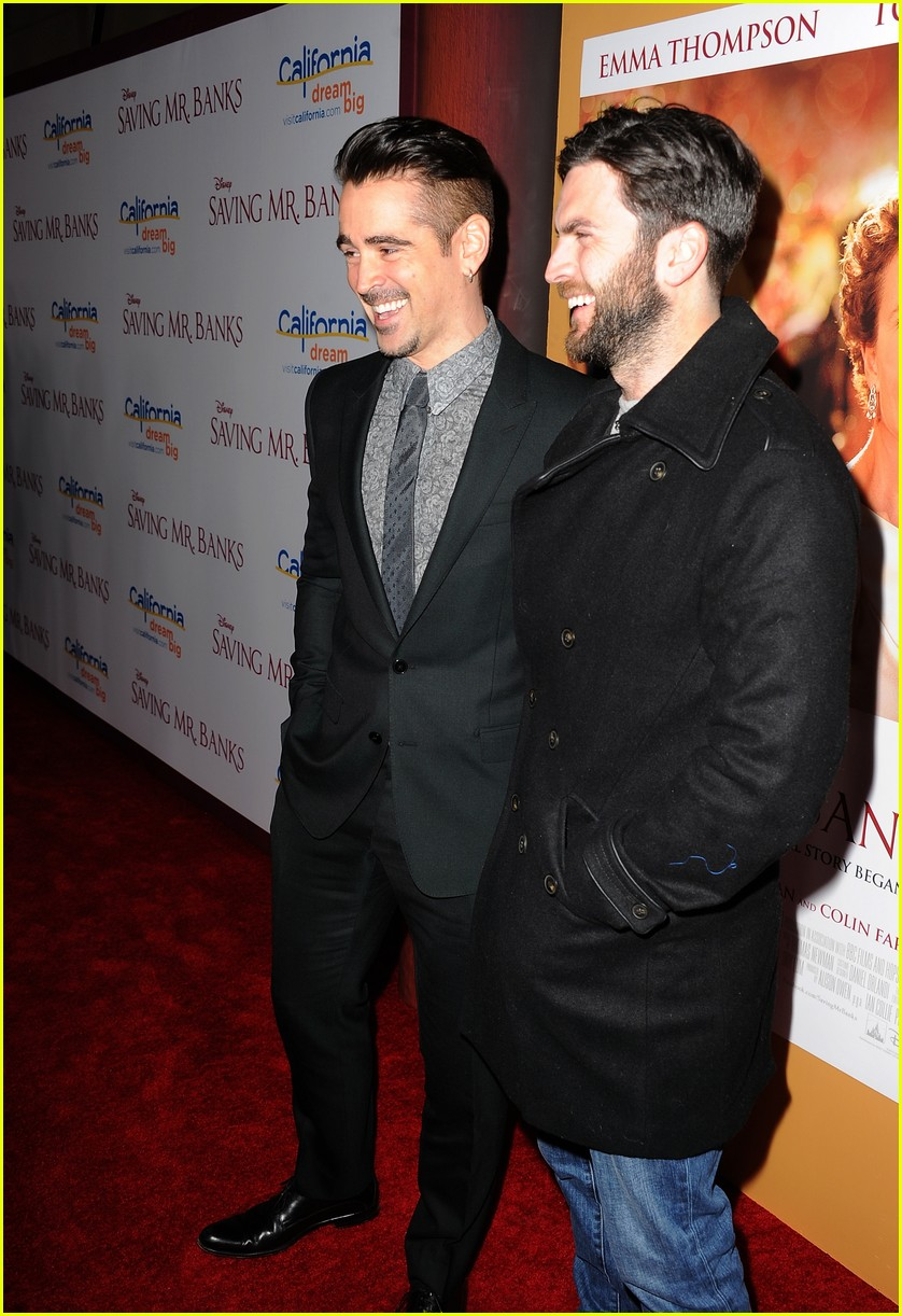 colin farrell tom hanks saving mr banks la premiere 053008722