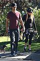 fergie josh duhamel dog walking duo 03