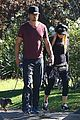 fergie josh duhamel dog walking duo 07