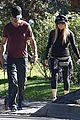 fergie josh duhamel dog walking duo 11