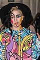 lady gaga paints eyeball on eyelid gives illusion eyes always open 21