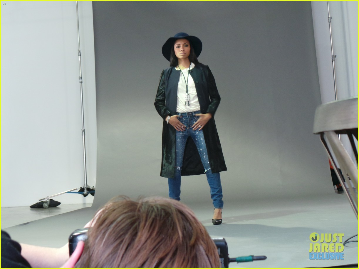 kat graham jj spotlight of the week behind the scenes pics 05