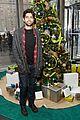 adrian grenier lacoste christmas lights celebration 03