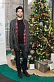 adrian grenier lacoste christmas lights celebration 07