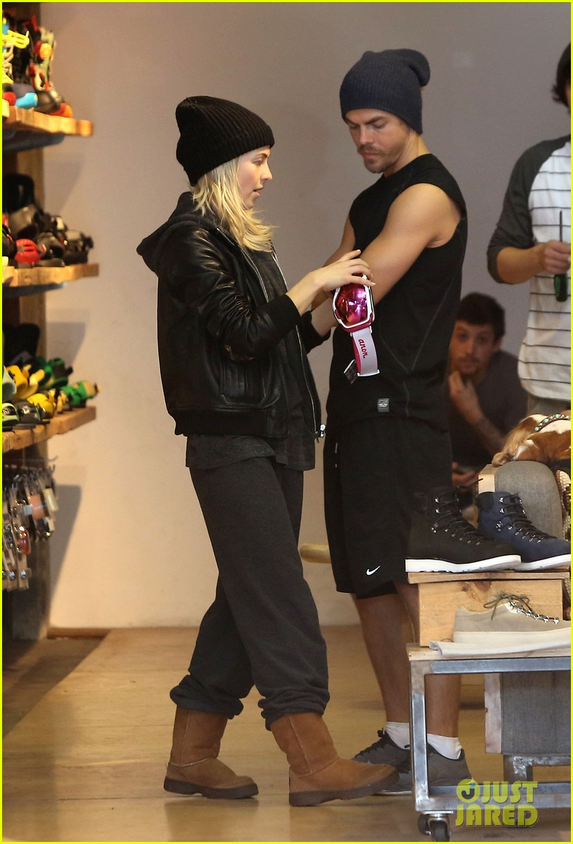 julianne hough goes snowboard shopping with derek 053016086