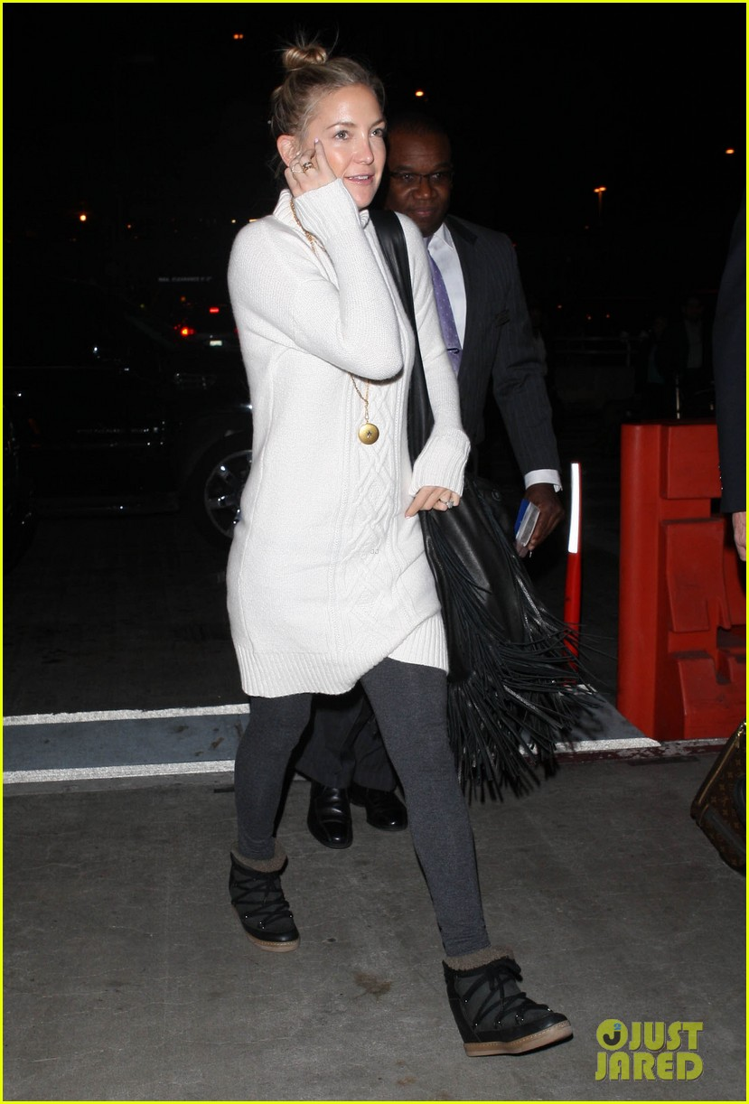 kate hudson makeup free at lax 083014182
