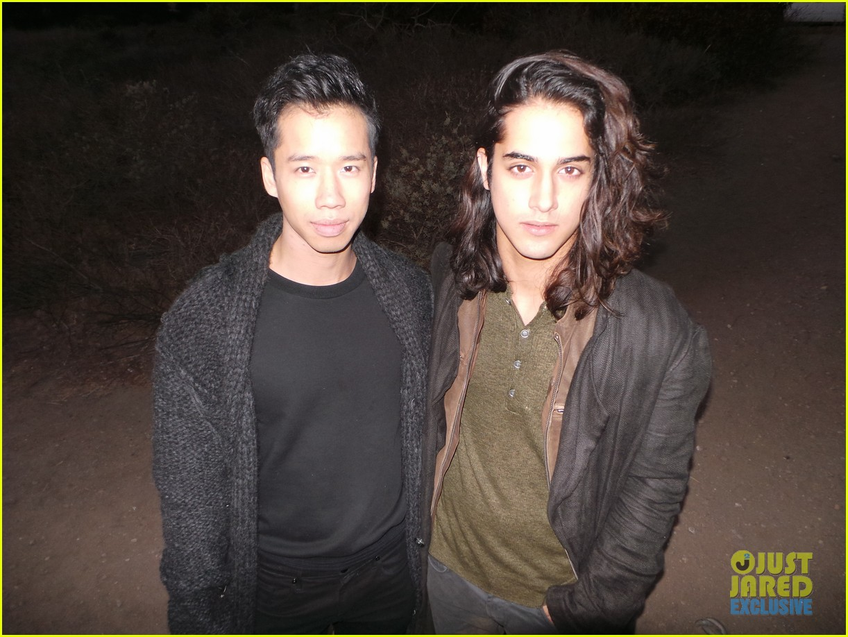 avan jogia jj spotlight of the week behind the scenes pics 043008695
